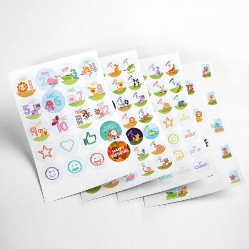animals stickers my365album