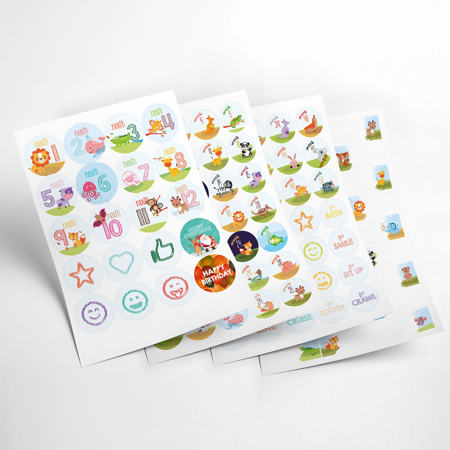 animals stickers my365album