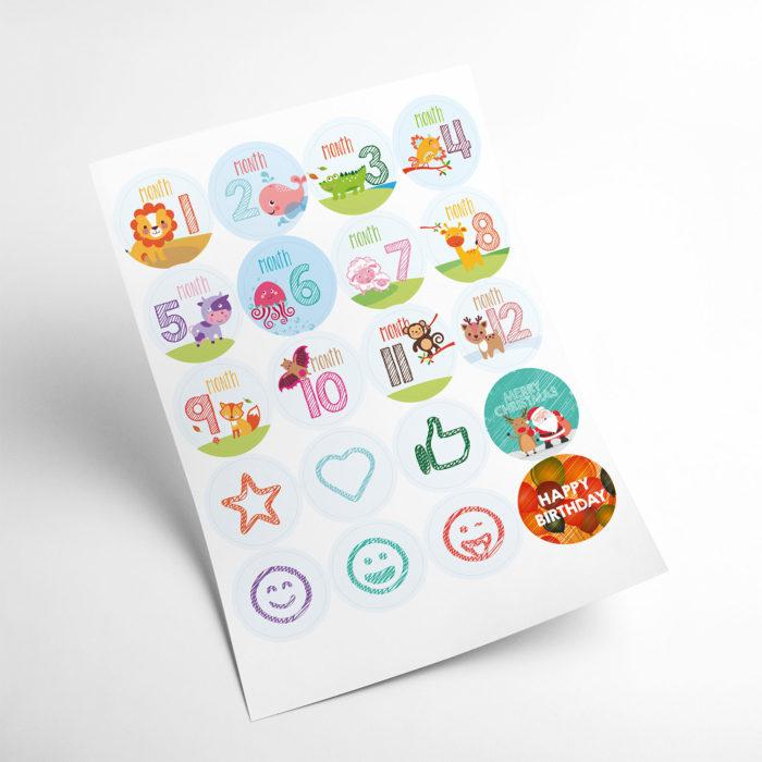 animals stickers my365album 01