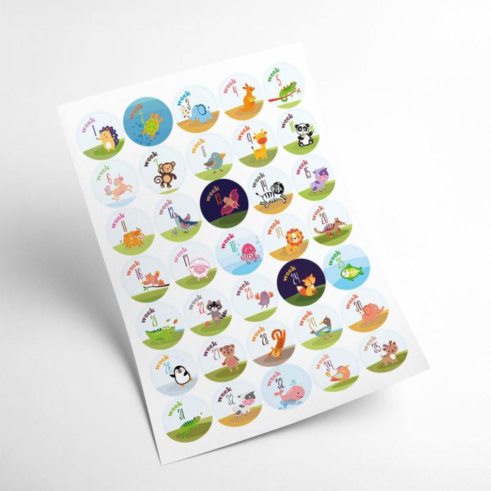 animals stickers my365album 02
