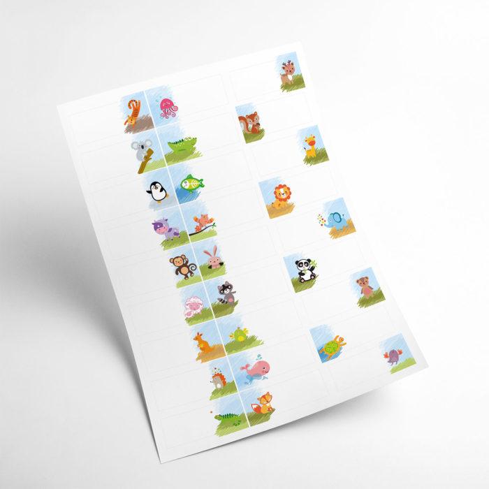 animals stickers my365album 04