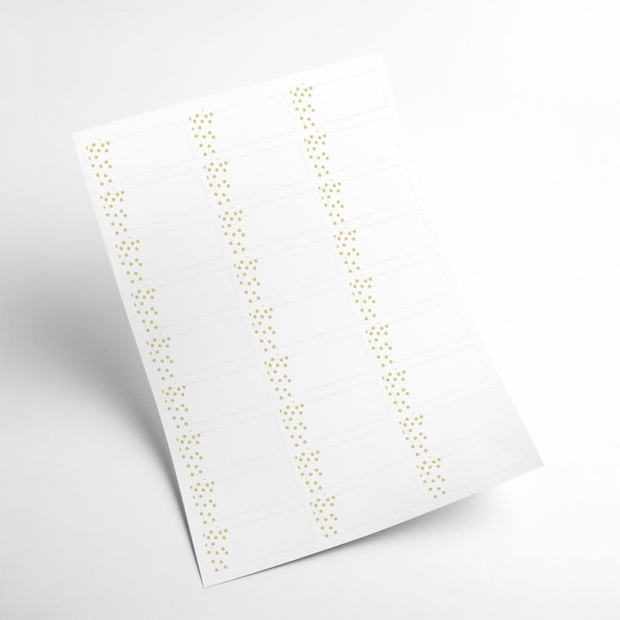 gold stickers my365album 04
