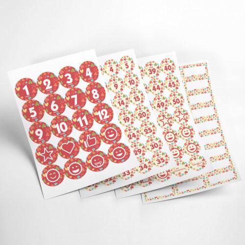 love stickers my365album