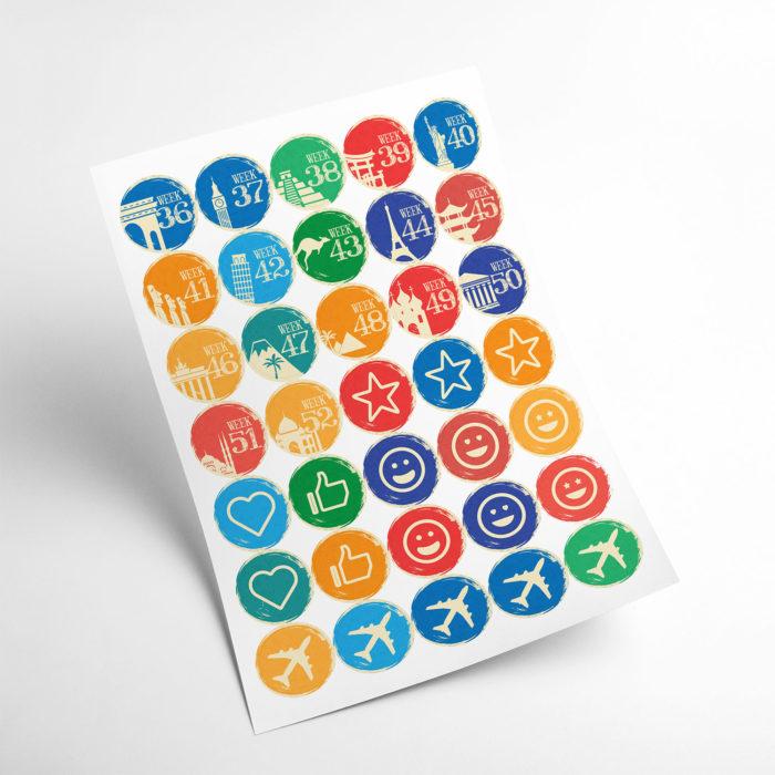 travel stickers my365album 03